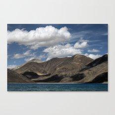 Journey to Pangong Lake Canvas Print