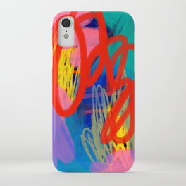 Hypno Abstract iPhone Case
