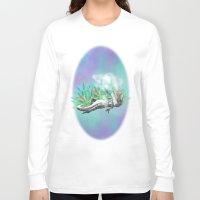 trex Long Sleeve T-shirts featuring weed trex by raulovsky (Raúl Ramos Melo)
