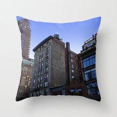 New York City Buildings NYC Throw Pillow
