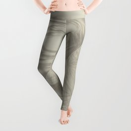 Delicate butterfly wind creation Leggings