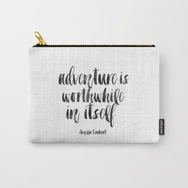 PRINTABLE Art Amelia Earhart,Adventure Time,Travel Gifts,Travel Poster,Adventure Awaits,Inspired Carry-All Pouch