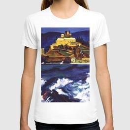 Cinque Terre, Italy Convent von Monterosso al Mare by Hermann Max Pechstein T-shirt