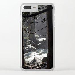 A River Runs Through Yosemite Clear iPhone Case