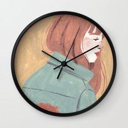 Chrysanthemum Jacket Wall Clock