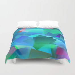 Relaxing by colors ... Duvet Cover