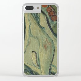 Giant Peacock Moth Clear iPhone Case