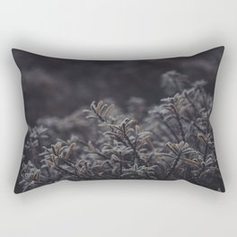 Cold Morning Frost. Dutch Winter. Netherlands. Fine Art Travel Print. Wall Art. Rectangular Pillow