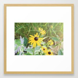 breathing it all in  Framed Art Print