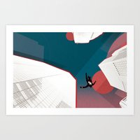 mad men Art Prints featuring Mad Men by PIXERS