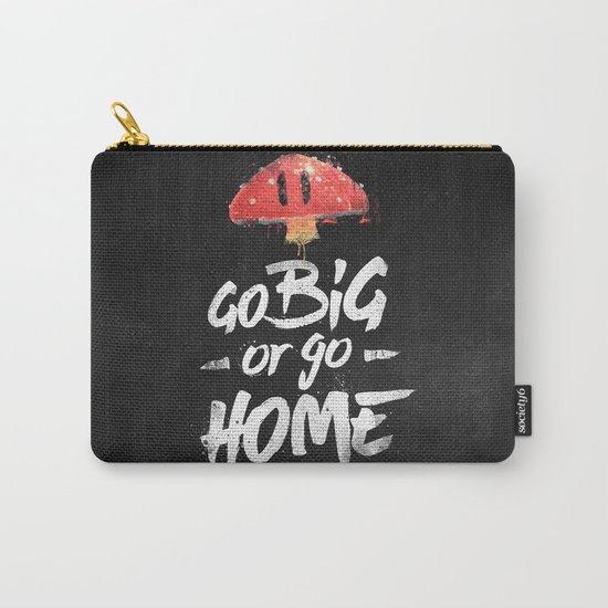 Go Big or Go Home Mario Inspired Smash Art Carry-All Pouch
