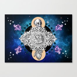 THE UNCERTAINITY OF THE TIME Canvas Print