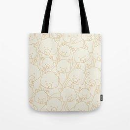 Minimalist Wombat Tote Bag
