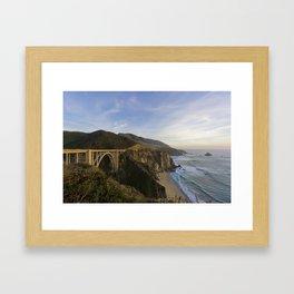 Bixby Bridge at Big Sur Framed Art Print