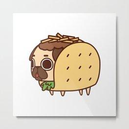 Puglie Taco Metal Print