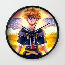 Sora Kingdom Hearts 2 Wall Clock