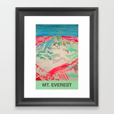 Mt Everest Framed Art Print