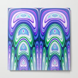 487 - Abstract colour design Metal Print