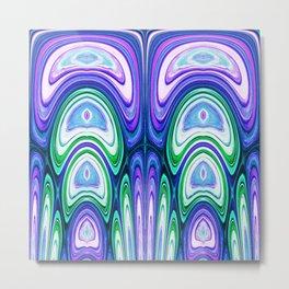 487 - Abstract colour design Metal Print