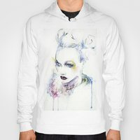vogue Hoodies featuring Vogue by Chris Silver