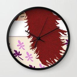 the sleeper Wall Clock