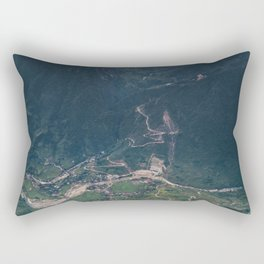 Mountainous town, Sa Pa, Vietnam Rectangular Pillow
