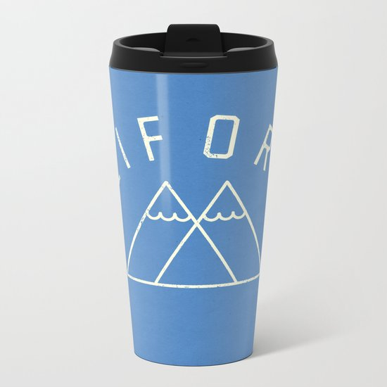 California Metal Travel Mug
