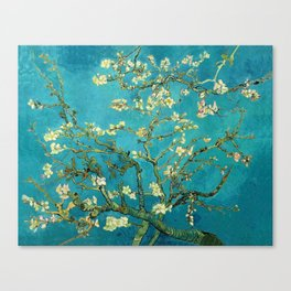 Vincent Van Gogh Blossoming Almond Tree Canvas Print