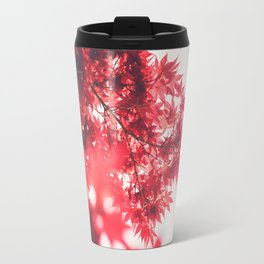 Japanese Maple Leaves Travel Mug