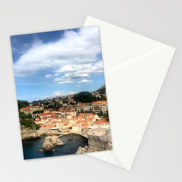 The Old City of Dobrovnik, Croatia Stationery Cards