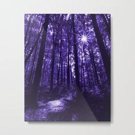 Shenandoah Ultra-Violet Metal Print