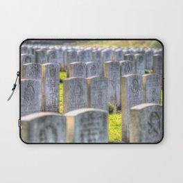 World War One War Graves Etaples Military Cemetery Laptop Sleeve