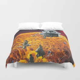 Journey to my own center  Duvet Cover