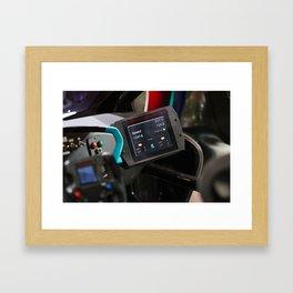 Citroën Survolt Inside Detail Framed Art Print