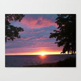 Sunset Pic 1 Canvas Print