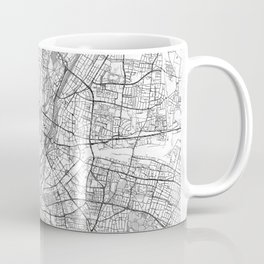 Munich Map Line Coffee Mug