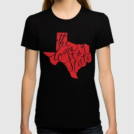 The Lone Star State - Texas T-shirt