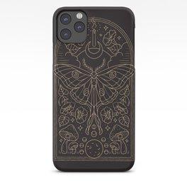 Moon Moth iPhone Case