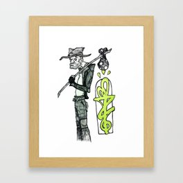 Modo Hobo Framed Art Print