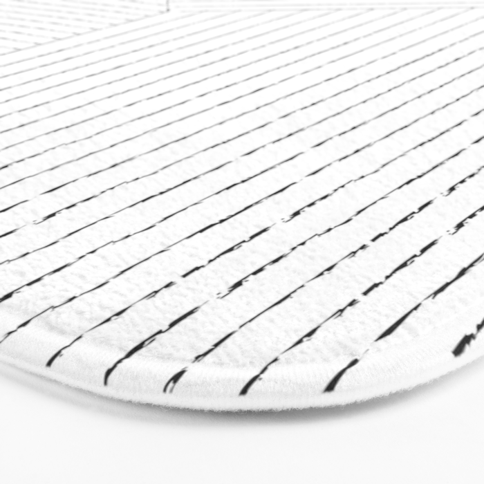 Lines Art Bath Mat