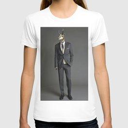 Prong Horned Businessman. T-shirt
