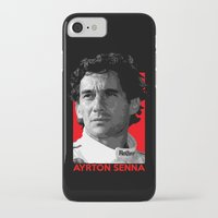 senna iPhone & iPod Cases featuring Formula One - Ayrton Senna by Vehicle