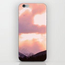 Rose Quartz Turbulence - II iPhone Skin