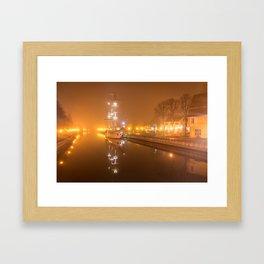 Memel im Nebel Framed Art Print
