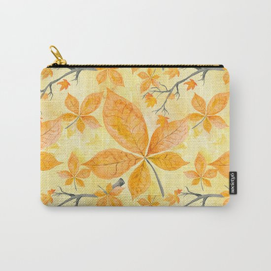Autumn leaves #11 Carry-All Pouch