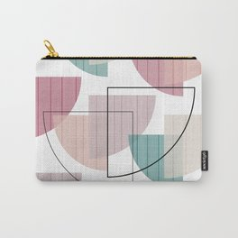 Mid Century Modern Colorful Carry-All Pouch