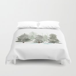 Tall Pines Duvet Cover