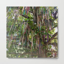 Bead Tree (New Orleans) Metal Print
