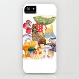 Woodland Mushroom Society iPhone Case