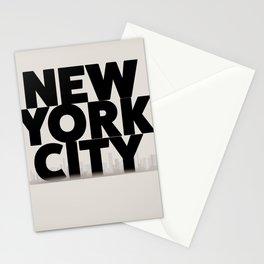 New York City vintage poster, Stationery Cards